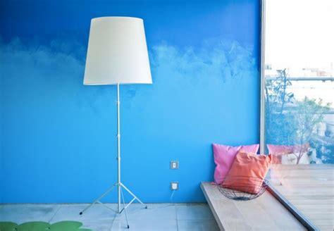 Zwei Farben Streichen by 65 Wand Streichen Ideen Muster Streifen Und Struktureffekte