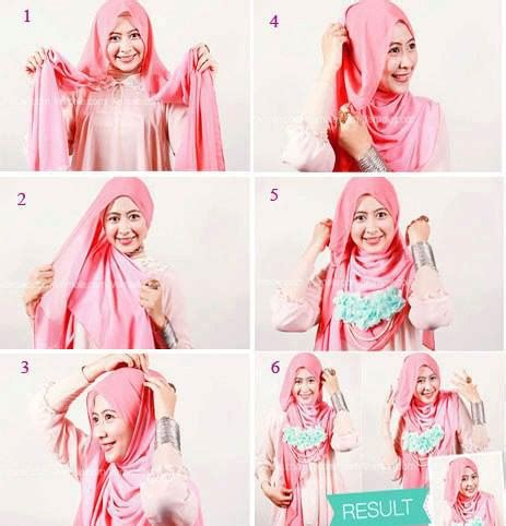 tutorial cara memakai jilbab with glitter shawl for cara memakai kerudung pashmina yang fleksibel dan peraktis