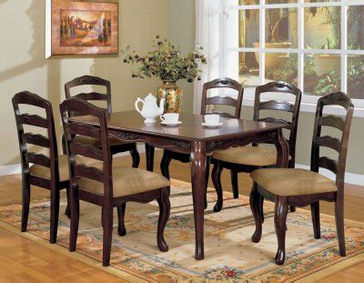 Dining Tables Townsville Cm3109t Townsville 5pc Dinette Set In Walnut W Options