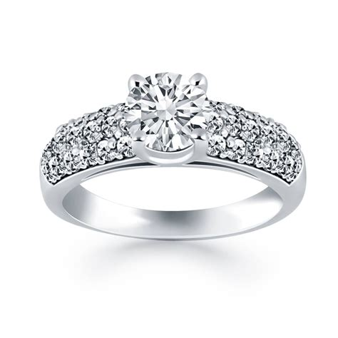 15 best collection of wedding rings with band
