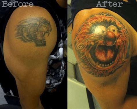 extreme tattoo cover up ideas ces 20 tatouages rat 233 s ont 233 t 233 parfaitement rattrap 233 s bravo