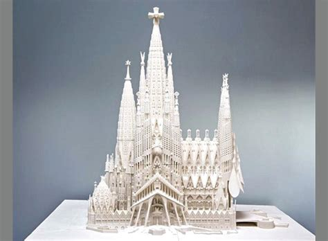 antoni gaudi create your 3791371487 la sta 3d permetter 224 di finire la sagrada familia make in nuoro
