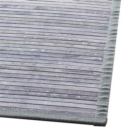 tappeti bambu tappeto stecche 170 cm bamb 249 grigio tappeto eminza