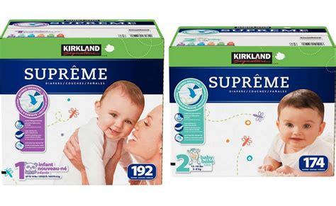 costco members   kirkland signature supreme diapers sizes   starting