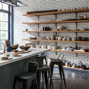industrial kitchen shelves 25 best ideas about wall shelves on wall