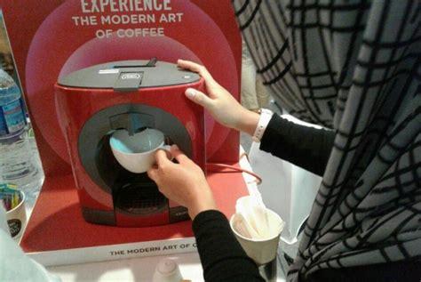 Mesin Kopi Nescaffe nescafe hadirkan mesin dolce gusto oblo yang lebih modern