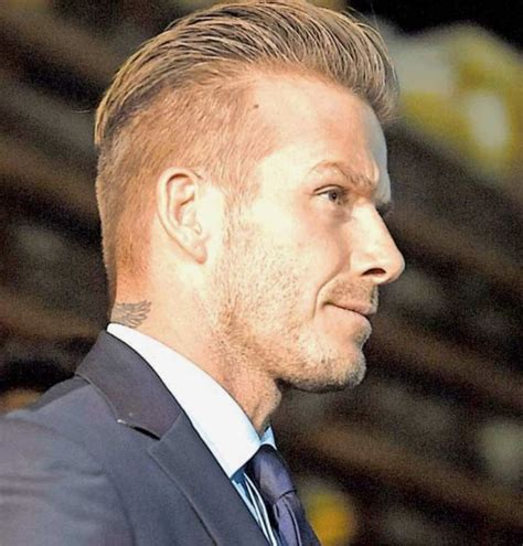 very short biography david beckham undercut comb over side and back view style