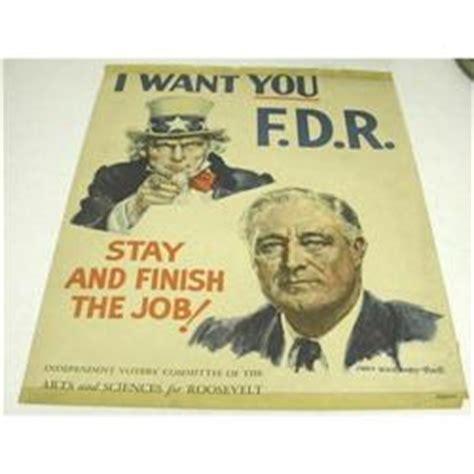 sam roosevelt fdr wwii political poster 1960763