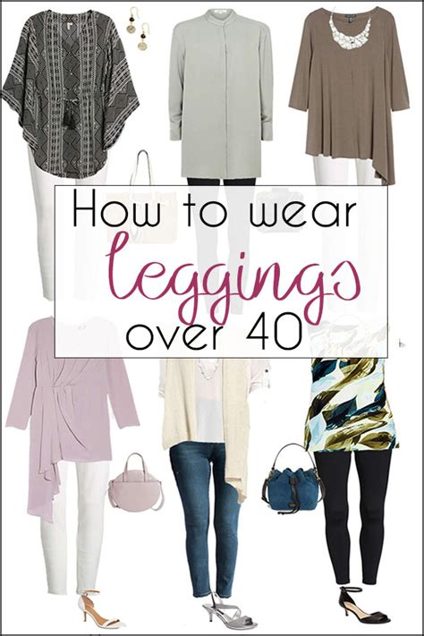 what not to wear over 60 how to wear leggings over 40 50 60 and beyond