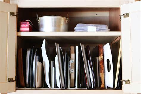 Kitchen Cabinet Pots and Pans Organization   Kevin & Amanda
