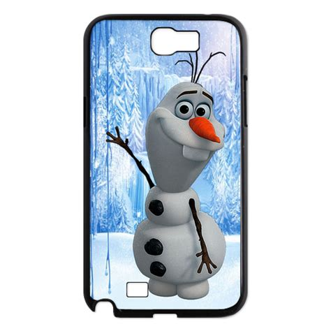 Casing Samsung Galaxy Note 5 Frozen 2 Custom Hardcase New Disney Frozen Olaf Samsung Galaxy Note 2 Cover Ebay