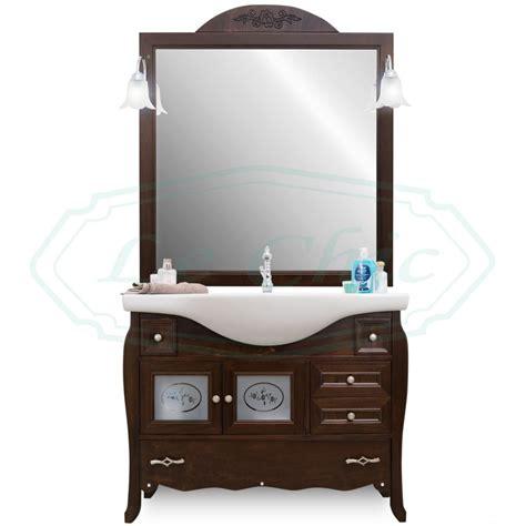 arredo bagno in legno arredo bagno in legno classico noce arte povera bombato