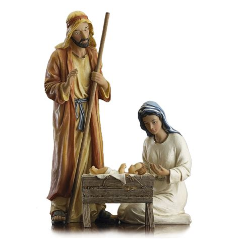 3 piece holy family christmas outdoor set decor inspiring nativity sets for sale for ornament ideas stvladimirs net