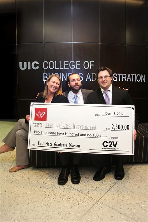 Uic Mba Phone Number by Students Put Business Ideas To Test Uic Today