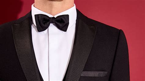 Burton Menswear Velvet Bow Tie how to dress for a black tie event style feature