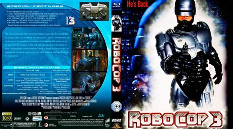 film robocop 3 robocop 3 dvd covers and labels