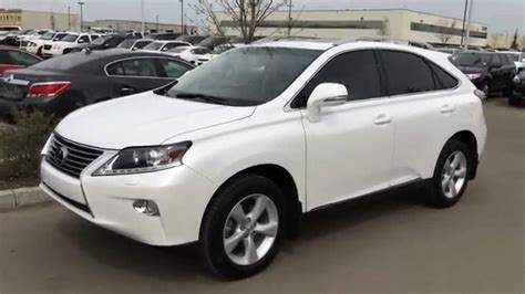 lexus certified pre owned 2013 lexus rx 350 awd white on