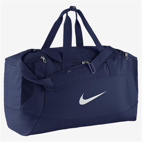 Tas Nike S Nike Club Duffel Bag 2 nike club team swoosh duffel sports bag in blue black
