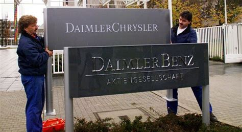 mercedes merger with chrysler may 7 daimler announces merger with chrysler