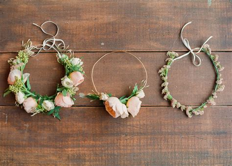 How To Make A Flower Crown Out Of Paper - diy flower crown green wedding shoes wedding