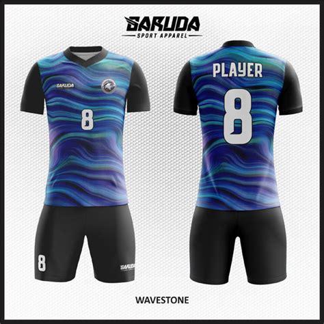 Desain Baju Futsal Biru | desain baju futsal warna biru sebagai seragam untuk tim