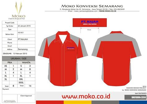 42 best images about konsep desain seragam kerja moko