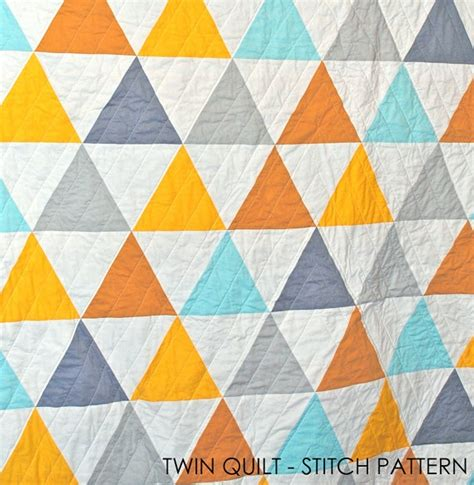 Triangle Quilt Patterns by Cool Triangle Stitch Pattern Quilting Board