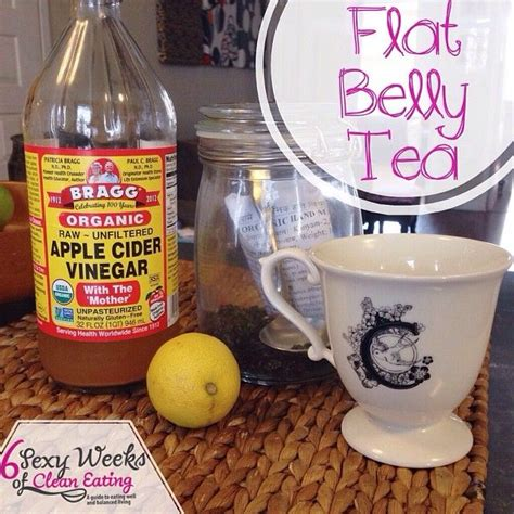 Detox Water For Flat Belly With Apple Cider Vinegar by Flat Belly Tea Ditch Your Morning Coffee Which Can Cause