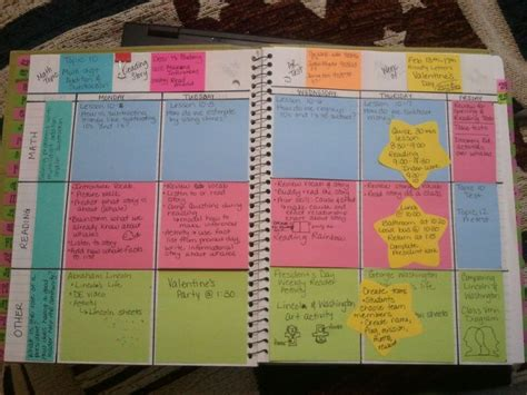 templates for lesson plan books the wise witty teacher diy lesson plan book create your