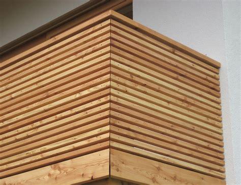 Balkon Holz by Fassade Balkon Terrasse Holzbau Mitterer