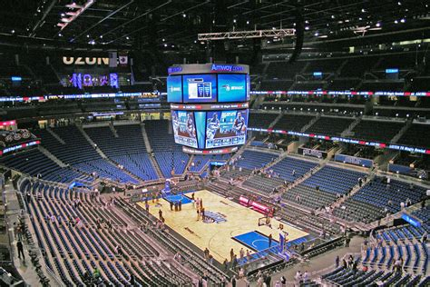 Allstate Arena Floor Plan by Top Digital Signage Amp Technology In Basketball Arenas