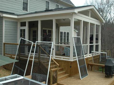 screened porch plans designs bloombety screened in porch ideas with the repairment