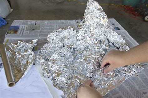 How To Make A Paper Mache Model - how to make a mountain out of paper mache with pictures