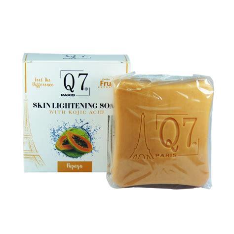 Termurah Sabun Kojic Kojic Whitening Soap q7paris skin lightening soap with kojic acid and papaya 200g soaps