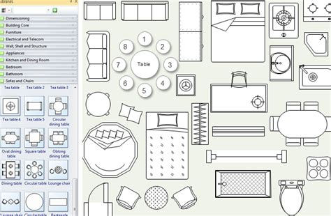 furniture icons for floor plans floor plan tool for real estate ads
