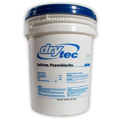 Kaporit Tjiwi 60 Calcium Hypochlorite Powder drytec calcium hypochlorite 100lb drum water treatment chemical supplier melt