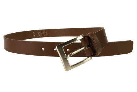 mens high quality brown leather belt made in uk belt designs