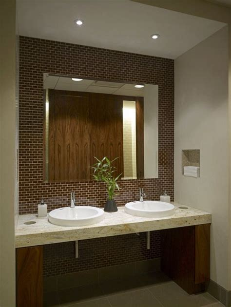 corporate bathroom ideas executive restroom great design and use of space clear