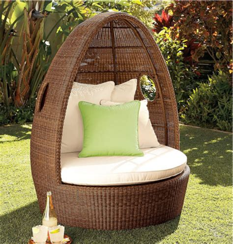 Furniture Mesmerizing Wicker Egg Chair Design Made From Outdoor Furniture Egg Chair