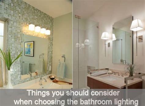 how to choose bathroom lighting lighting ideas things you should consider when choosing the bathroom lighting