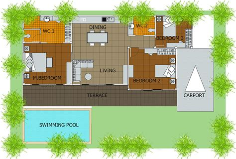 duplex house plans with swimming pool home floor plans with swimming pool