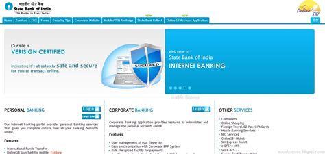 bank of india net banking corporate credit bank personnel statebankofindia banking