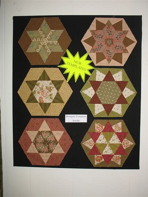 Hexagon Patchwork Templates - hexagon template for patchwork