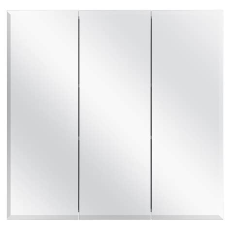 glacier bay tri view surface mount medicine kohler verdera 24 in w x 30 in h recessed or surface