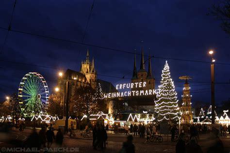 weihnachtsbaum erfurt weihnachtsmarkt erfurt bild foto micha paech aus
