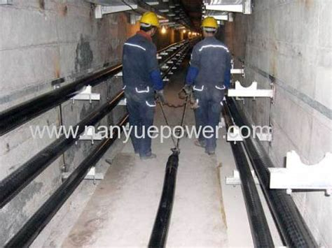 buried cable installation 40 t cable winch puller electric power distribution
