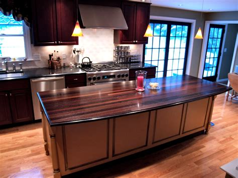 bar top counter wenge wood countertop photo gallery by devos custom