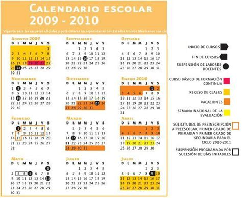 Calendario 2009 Y 2010 Calendario Escolar Sep 2015 Imagui