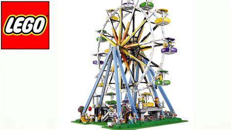 libro la rueda de la rueda de la fortuna lego 10247 youtube