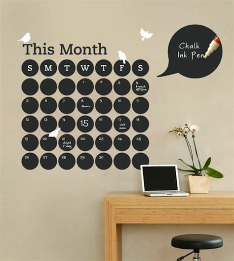 diy office decorating ideas 10 diy calendars for 2012